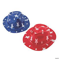 Kid's Patriotic Fedora Hats