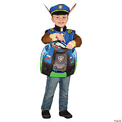 kids paw patrol chase candy catcher costume