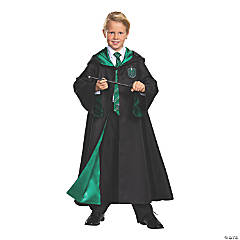 Kid's Prestige Harry Potter Slytherin Robe - Large