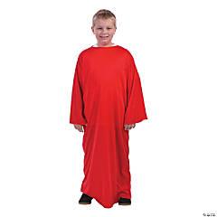 Kids' Red Nativity Gown - L/XL