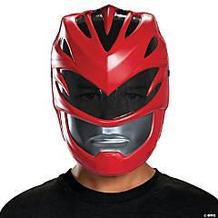 Kid's Red Ranger Vacuum Mask