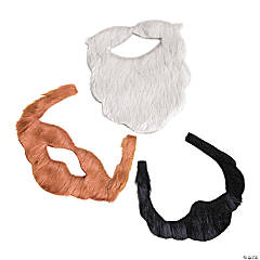 Kids' Self-Adhesive Beard Assortment