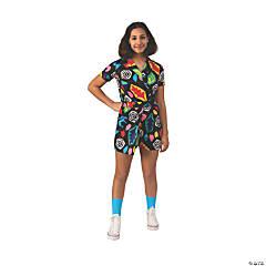 Kid's Stranger Things™ 3 Elevens Mall Dress - Large