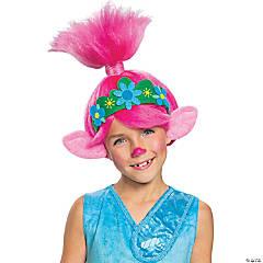 Kid's Trolls Movie 2 Queen Poppy Wig