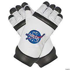 Kid's White Astronaut Gloves