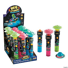 Kidsmania® UFO Spinner™ Flashing Toy with Candy
