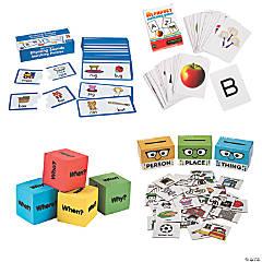 Kindergarten Language Arts At-Home Learning Kit
