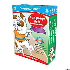 Kindergarten Language Arts Learning Games Set