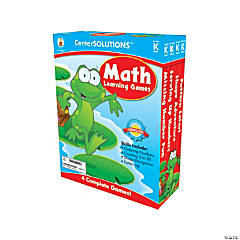 Kindergarten Math Learning Games Set