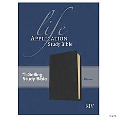 King James Version Life Application Study Bible - Black