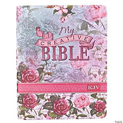 King James Version My Creative Bible - Floral