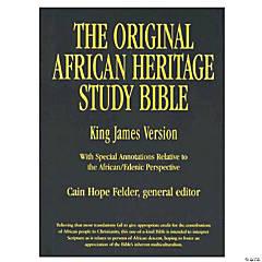 King James Version Original African Heritage - Black