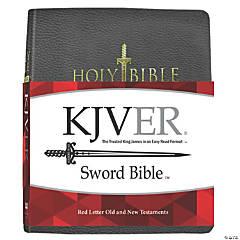 King James Version Sword Study Bible Giant Print - Black