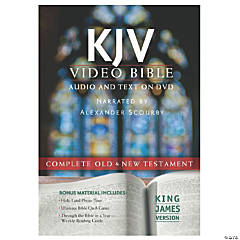 King James Version Video Bible:Audio/Text On DVD (Voice)