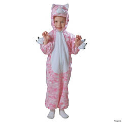 Kitty Pink Plush Kid's Costume