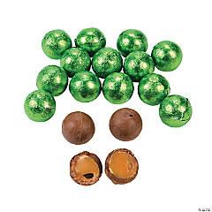 Kiwi Green Caramel Balls Chocolate Candy