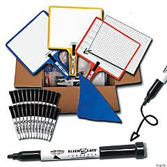 KleenSlate Customizable Handheld Whiteboards, 24 Pk