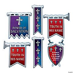 Knight VBS Banner Flag Cutouts