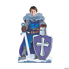 Knight VBS Cardboard Stand-In Stand-Up
