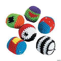 Knitted Mini Kick Balls