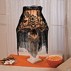 Lace Lampshade Topper Halloween Decoration