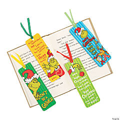 Laminated Dr Seuss™ The Grinch Bookmarks