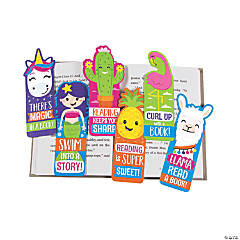 Laminated Fun-Shaped Bookmarks
