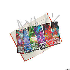 Laminated Galaxy Bookmarks
