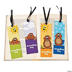 Laminated Groundhog Day Fact Bookmarks