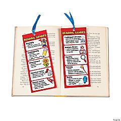 Laminated Jumbo Reading Genre Bookmarks