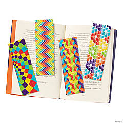 Laminated Optical Illusion Bookmarks