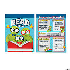 Laminated Read with Me Pocket Folders
