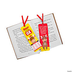 Laminated The Year of the Ox Chinese New Year Bookmarks