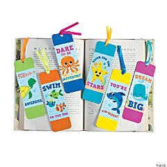 Laminated Under the Sea Bookmarks