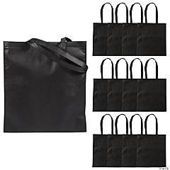 Large Black Tote Bags