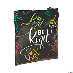 Large Confetti Laminated Tote Bags