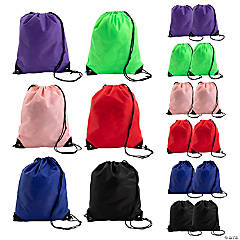 Large Drawstring Bag Assortment