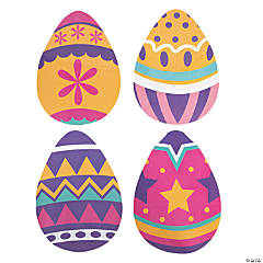 Large Easter Egg Cutouts