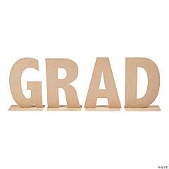 Large Glitter Grad Tabletop Letters