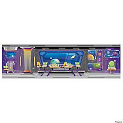 Large God's Galaxy VBS Spaceship Backdrop