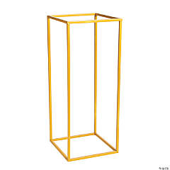 Large Gold Geometric Stand