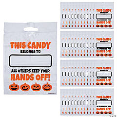 Large Halloween Resealable Treat Bags