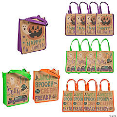 Large Halloween Tote Bags
