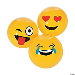 Large Inflatable Emoji Balls - 18