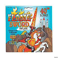 Large Inflatable Flame Swords