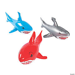 Large Inflatable Sharks