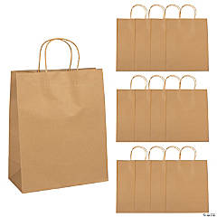 Large Kraft Paper Gift Bags