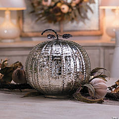 Large Mercury Glass Pumpkin