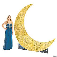 Large Moon Cardboard Stand-Up