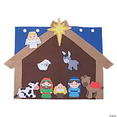 Large Nativity Scene Activity